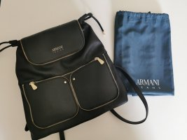 Armani Jeans Daypack black-gold-colored