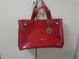 Armani Jeans Handbag red