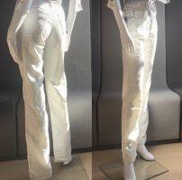 Armani Jeans Low Rise Jeans white