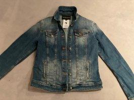Armani Veste en jean bleuet-bleu foncé