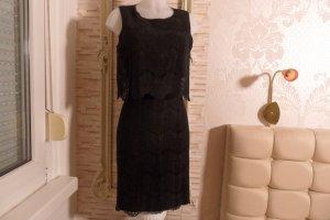 Armani Collezioni Avondjurk zwart Katoen