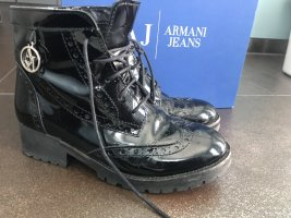 Armani Lack Boots