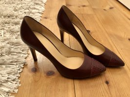 Armani Pumps, NEU, Bordeaux Gr. 39