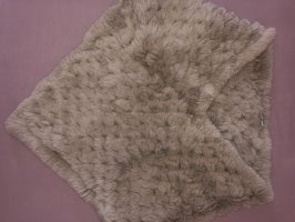 Armani Collezioni Bufanda de lana marrón grisáceo
