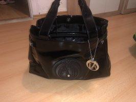 Armani Shopper noir synthétique