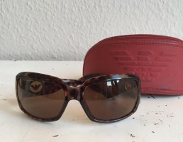 Armani Collezioni Okulary brązowy