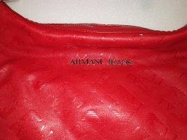 Armani Jeans Shoulder Bag red