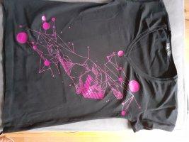 Armani T-shirt imprimé noir-violet