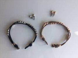 Armbänder u. Ohrringe Set