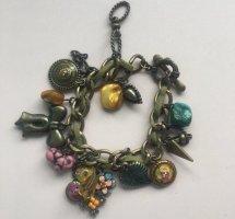 Bracelet à breloques bronze