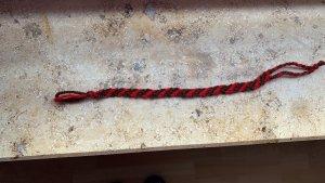 Friendship Bracelet brown-dark red