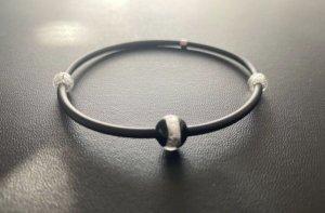 Thomas Sabo Bracciale di perle nero-argento