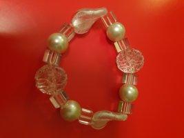Bracelet white-silver-colored