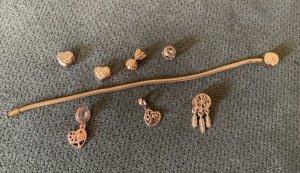 Armband Bettelarmband mit 7 Anhängern