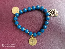Charm Bracelet multicolored glas