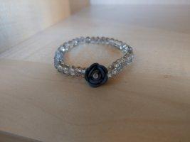Armband lichtgrijs-azuur