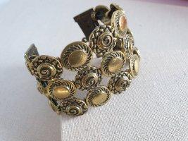 Armband Bronze farben Glieder Armschmuck Neu Kreis