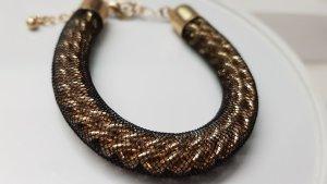 Bijou Brigitte Link Chain black-gold-colored