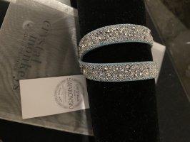 Armband azuur-zilver