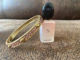 Betsey Johnson Braccialetto sottile giallo-oro-rosa