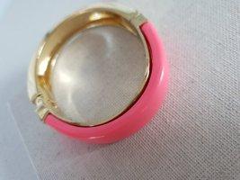 Armband Goldfarben Pink Statement Armschmuck Schick