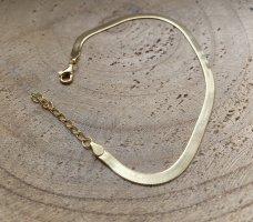 Silver Bracelet en or doré