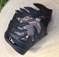 Leather Bracelet black leather