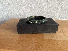 Armband LIEBESKIND BERLIN grün mit Nieten