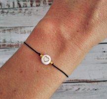 Armband mit goldenem Herz NEU und größenverstellbar