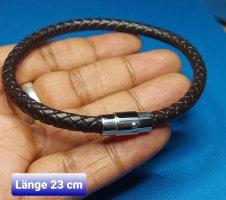 Armband mit Magnet - Dunkeln Braun