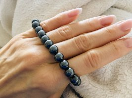 Bracelet anthracite-black