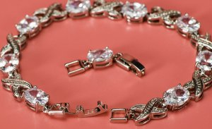 925 Zilveren armband zilver Metaal