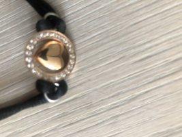 Armband zwart Gemengd weefsel