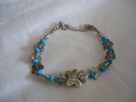 Armband lichtgrijs-lichtblauw