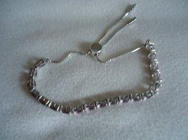 Braccialetto in argento rosa
