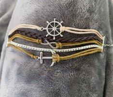Armband - neu - Anker - Infinity