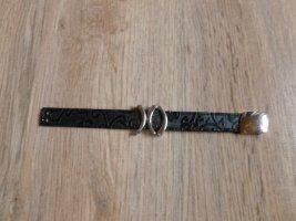 Armband schwarz Silber RH Pierre Lang Neu