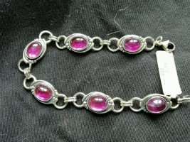 ARMBAND Silber 925. L ca. 19 cm, Np 155 euro