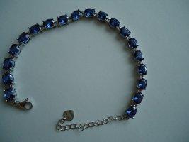 Armband Tansanit silber