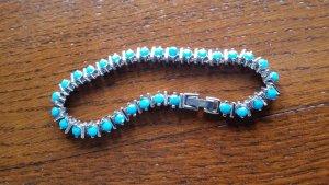 Armband korenblauw
