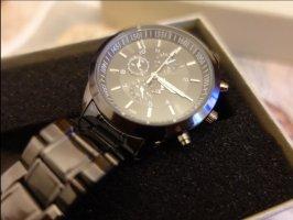 SmD Montre avec bracelet métallique noir