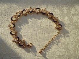 Bracelet gold-colored-lilac