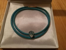 Coeur de Lion Leather Bracelet turquoise