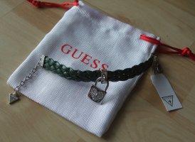 Armband von GUESS - grün - mit Strass Schloss