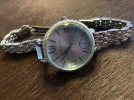 Adrienne Vittadini Horloge met metalen riempje zilver