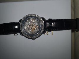 -8- Venice Watch With Leather Strap multicolored