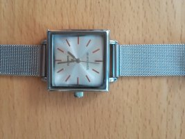 Brave Soul Watch With Metal Strap silver-colored