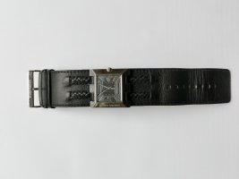 Bruno Banani Watch With Leather Strap black
