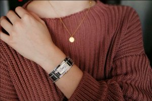Armbanduhr echt silber von ESPRIT
