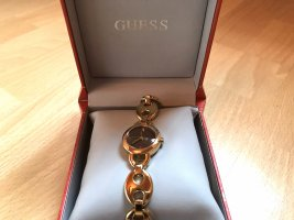 Guess Montre analogue multicolore bronze